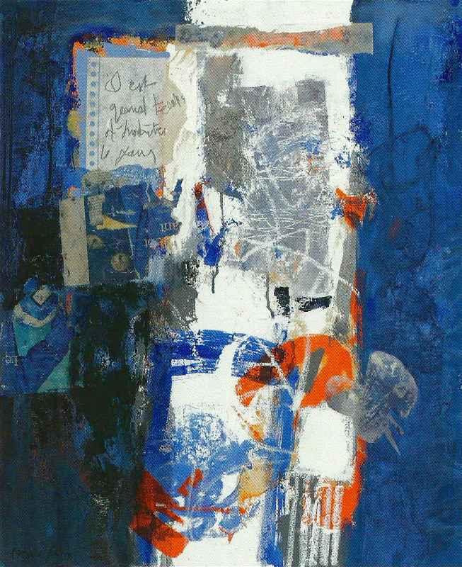 Il est grand temps, 60x73, 2012, Huile sur toile, Françoise Pirró