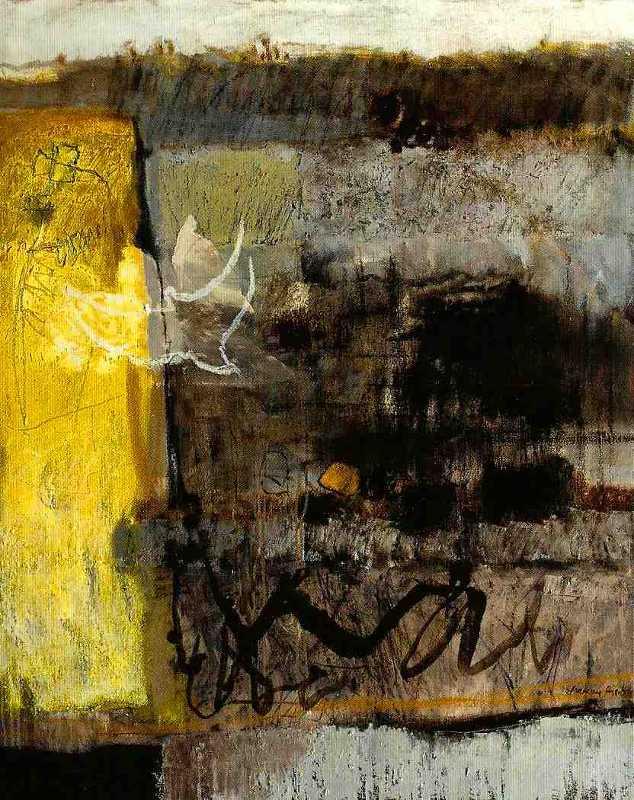 Paysages du 9/9, 100x81, 2014, Huile sur toile, Françoise Pirró